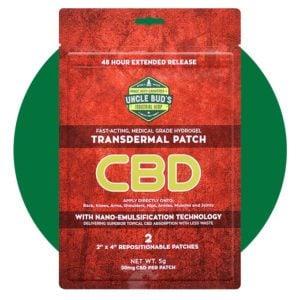 Uncle Bud's 20 mg CBD Transdermal Patch