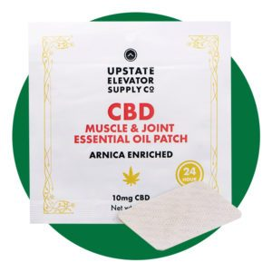 Upstate Elevator Supply Co. 10mg CBD Muscle & Joint Essential Oil Patch