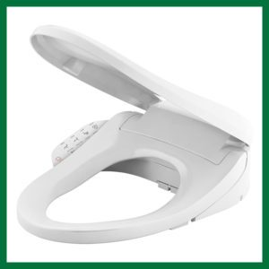 Kohler Elongated Warm Water Bidet Toilet Seat