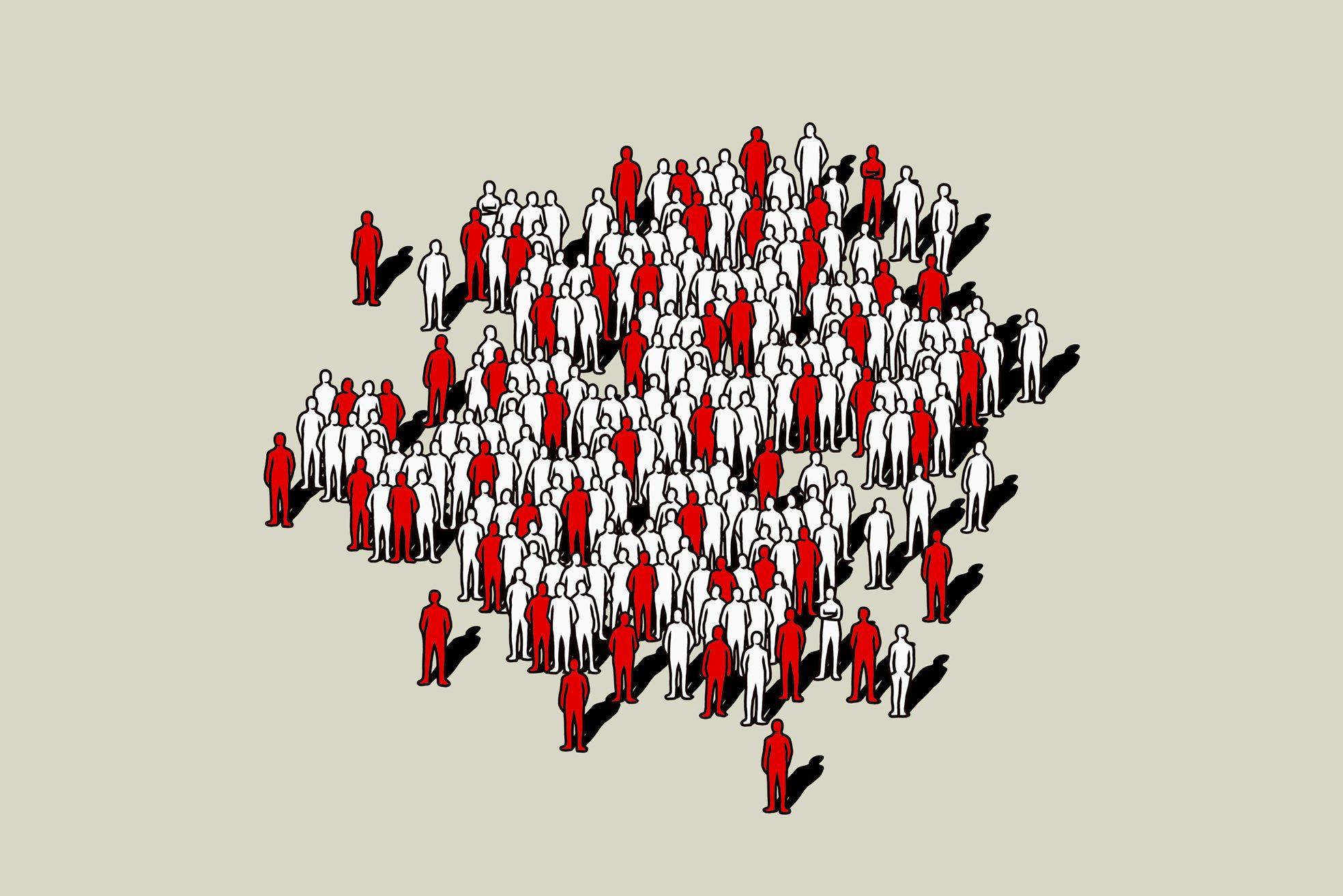 heart disease fatality illustration