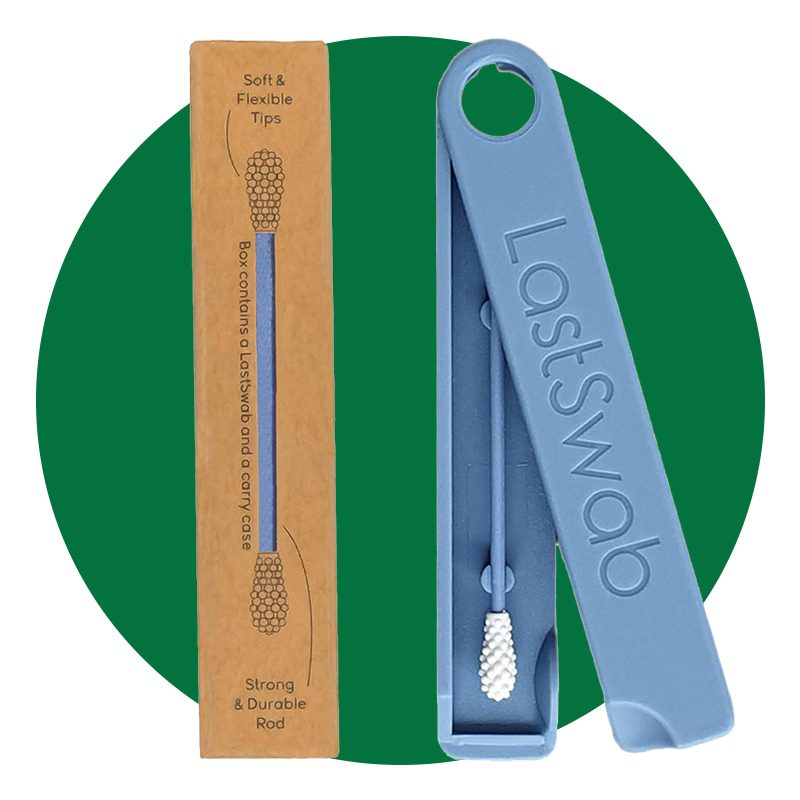 LastSwab Reusable Cotton Swabs for Ear Cleaning