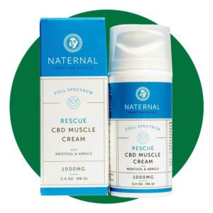 Naternal Rescue Cbd Muscle Cream