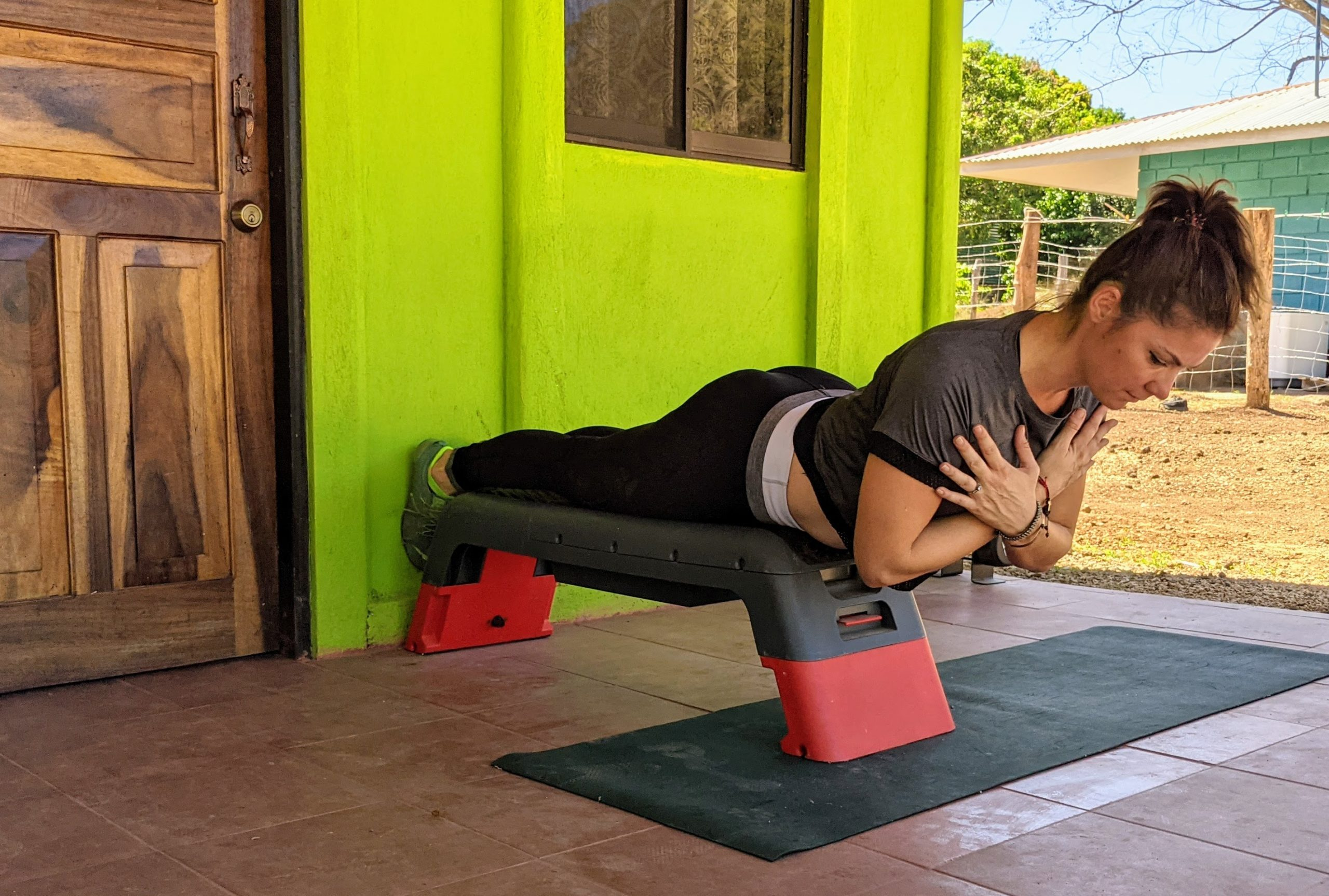 back extension exercise for lower back pain