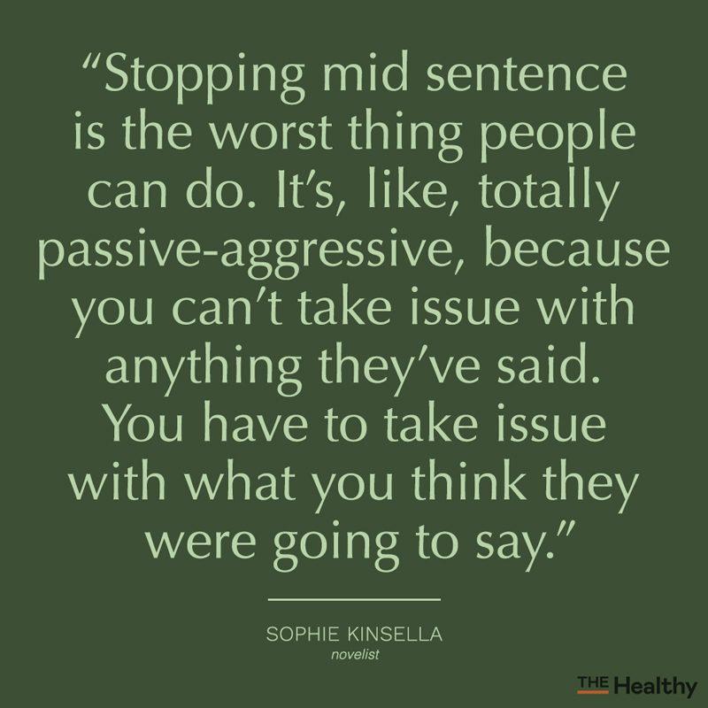 passive aggressive quote card