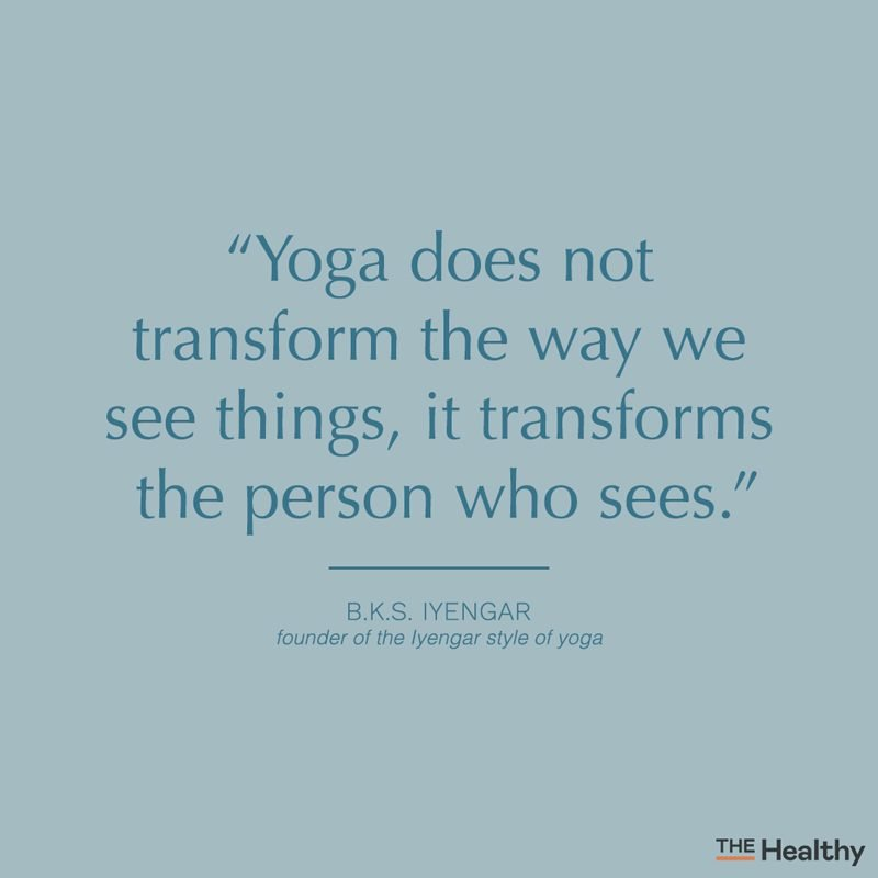 yoga quote card