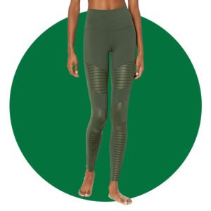 Alo Yoga Womens High Waist Moto Legging