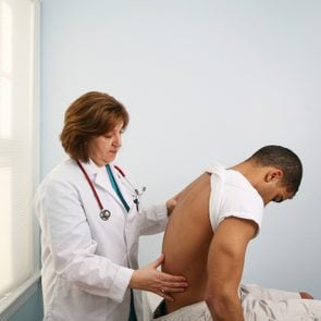 Spine and back exam