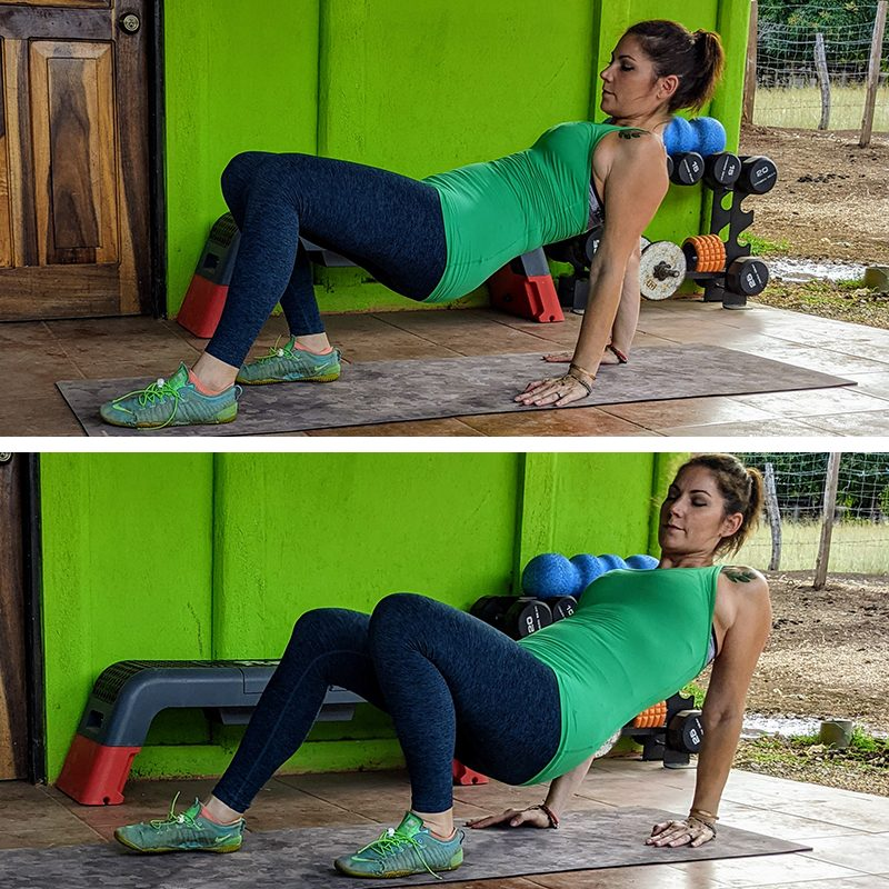 How to Do the Crab Walk Exercise for a Full-Body Workout