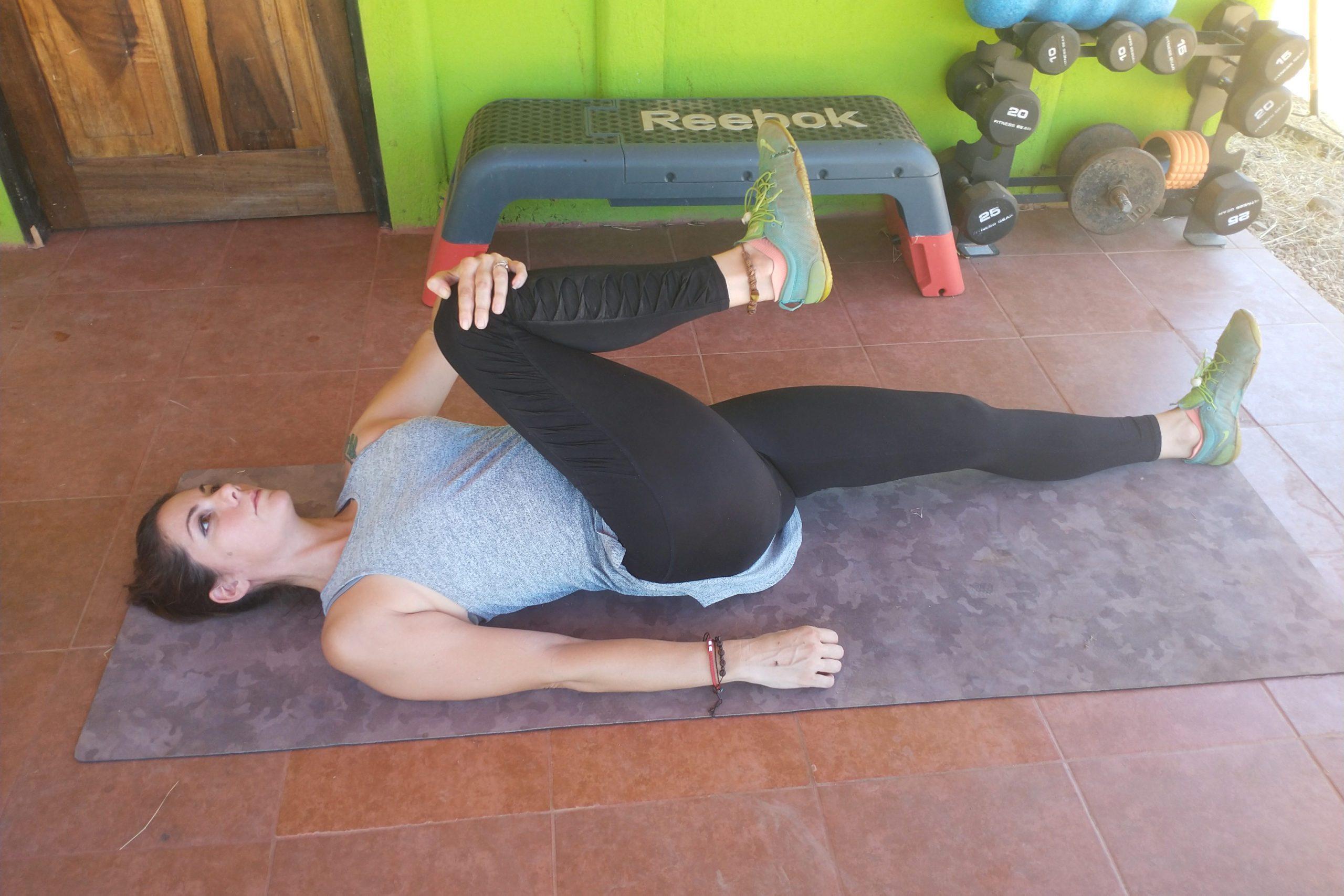 Cross Body Piriformis Stretch