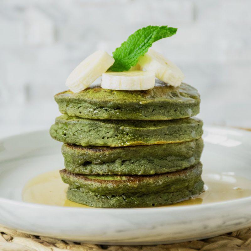 Green Banana Pancakes