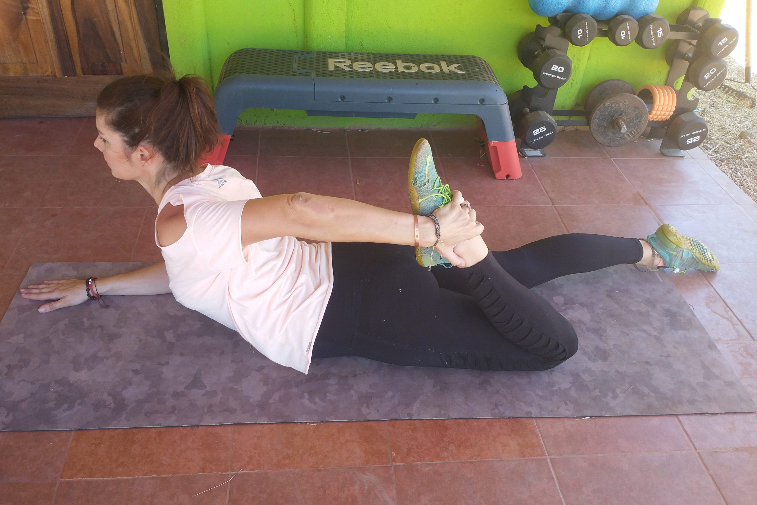 Prone Quad Stretch