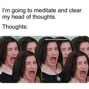 Insta Meditation Memes