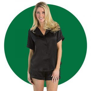 Fishers Finery Womens Short Pajama Set