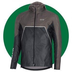 Gore R7 Tex Shakedry Trail Hooded Running Jacket