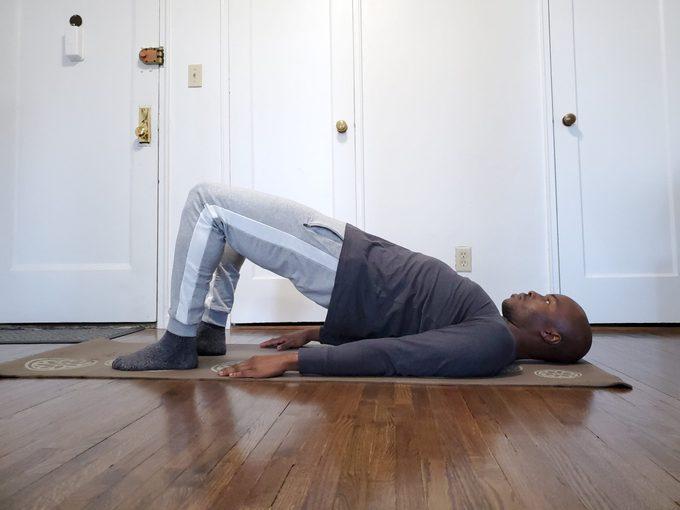 pilates bridge exercise
