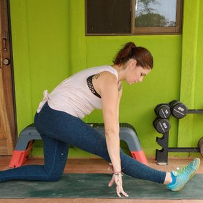 Static Stretching Example