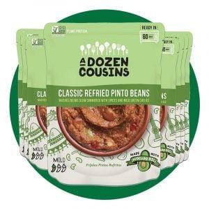 A Dozen Cousins Seasoned Refried Beans
