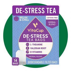 Destress Herbal Tea Bags By Vitacup