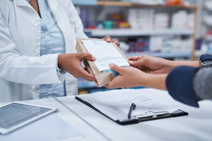 Your prescription is ready for collection