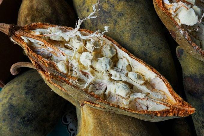 open baobab fruit