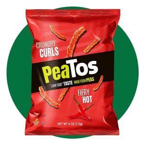 Peatos Fiery Hot Crunchy Curls