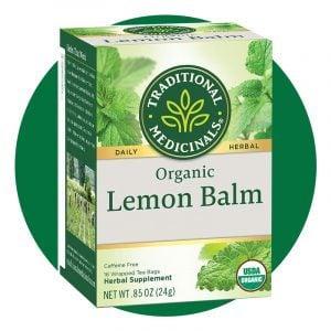 Traditional Medicinals Organic Lemon Balm Herbal Tea