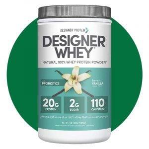 Designer Whey French Vanilla Protein Powder