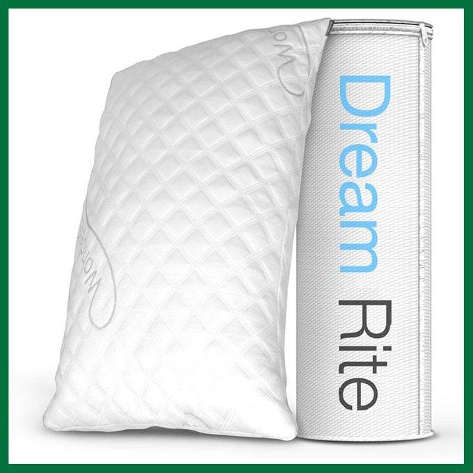 Dream Rite Shredded Hypoallergenic Memory Foam Pillow