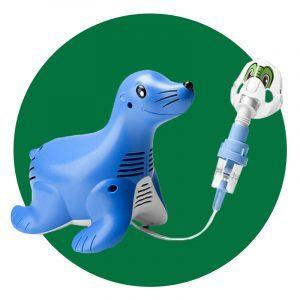 Sami The Seal Compression Nebulizer System