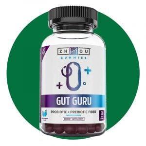 Zhou Nutrition Gut Guru Gummies