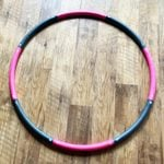 I Tried a Weighted Hula Hoop for a Fun, At-Home Workout