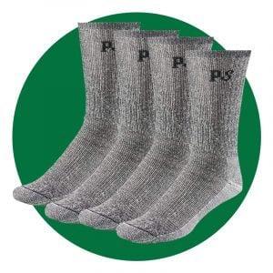 People Socks Below Zero Crew Socks