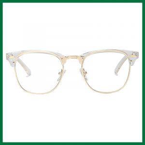 Sojos Retro Semi Rimless Half Horn Rimmed Eyeglasses